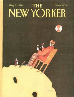 The New Yorker - Monday, August 1990 - Issue # 3416 - Vol. 66 - N° 25 - Cover by Victoria Roberts The New Yorker, New Yorker Covers, Magazine Illustration, Book Illustration, All Covers, My Favorite Image, Cartoon Drawings, Cover Photos, Cover Art