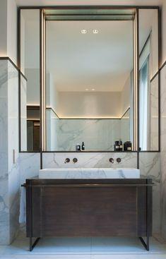 Stylish art deco bathroom vanity 50 beautiful idea best awesome 12 for designing an tile mirror accessory suite lighting cabinet Art Deco Bathroom, Modern Bathroom, Small Bathroom, Neutral Bathroom, Parisian Bathroom, Bathroom Canvas, Bathroom Ideas, Shower Ideas, Classic Bathroom