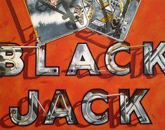 """""""BlackJack"""" - Original Fine Art for Sale - © Jelaine Faunce"""