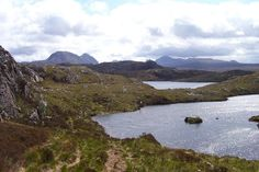 Fairy Lochs, near Badachro. Permits from the Shieldaig Lodge Hotel. Wester Ross, North Coast 500, Rocky Hill, Brown Trout, Historical Sites, Fly Fishing, West Coast, Places Ive Been, Scenery
