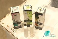 Inhalador para despejar la nariz con aceites esenciales