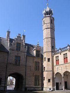 Het Markiezenhof (Bergs: Markiezen'of) is een laatgotisch stadspaleis in Bergen op Zoom, residentie van de heren en later de markiezen van Bergen op Zoom. Noord Brabant Bergen, Palaces, Belgium, Castles, Netherlands, Holland, Dutch, Europe, Mansions