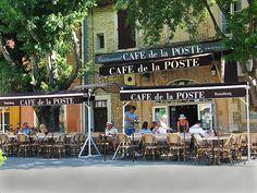 Café de la Poste en Goult, Provence
