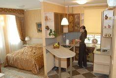 кухня-спальня в одной комнате: 2 тыс изображений найдено в Яндекс.Картинках