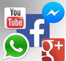 Las redes sociles nos facilitan la comunicacion.