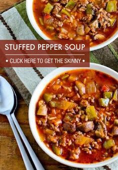 This is a great soup to make ahead and freeze for later!