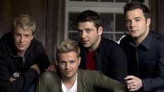 Shane, Mark, Nicky ♥, Kian