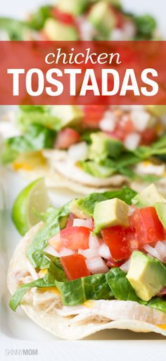 This delicious tostadas recipe is the perfect dinner for the family!