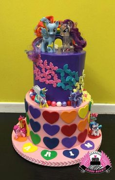 Rainbow Dash My Little Pony Cake - Cake by Cakes ROCK!!!