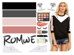 """""""Romwe: Inspired"""" by kmrich20 ❤ liked on Polyvore featuring Superga, Myia Bonner, OPI, Max Factor and Gucci"""