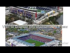 Orlando city soccer old and new stadiums Visit Orlando, Orlando City, Travel Videos, Old And New, City Photo, Soccer, Youtube, Football, European Football