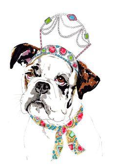 Dogs in tiaras! By Jo Chambers