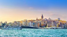 Skyline of #Istanbul from the Golden Horn #Turkey #travelling #places