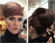 flair with a twist Aveda Makeup, Hair Designs, Up Hairstyles, Updos, Hair Beauty, Couture, Hair Styles, Earth, Book