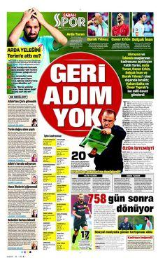 SPORUN MANŞETLERİ (1 EKİM 2016) - 10 | NTVSpor.net