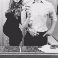 Cute Pregnant Couple