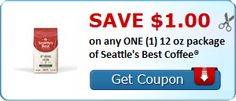 New Coupon!  Save $1.00 on any ONE (1) 12 oz package of Seattle's Best Coffee® - http://www.stacyssavings.com/new-coupon-save-1-00-on-any-one-1-12-oz-package-of-seattles-best-coffee/