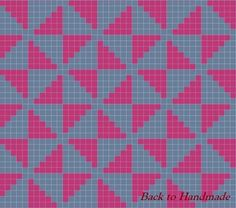 Γεωμετρικό tapestry τσαντάκι! - Back To Handmade