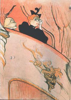 -Henri de Toulouse-Lautrec - The Box with a Guilded Mask