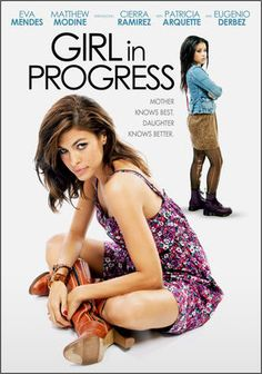 Girl in Progress. Grace, a single mom, is also a distracted mom who seems to not care about her daughter Anseidad, who decides to take it upon herself to go through the 'rights of passage' & grow up to be able to leave her mother for good. This was such a good movie & very cute. It seemed super realistic & was completely adorable. I would recommend this to everyone who wants a feel-good movie.