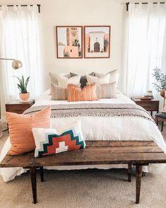 Boho Bedroom Decor - Jess Baker Beauty