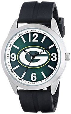 "Game Time Men's NFL-VAR-GB ""Varsity"" Watch - Green Bay Packers"