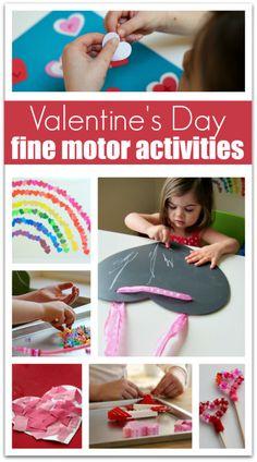 fine motor activities for preschool