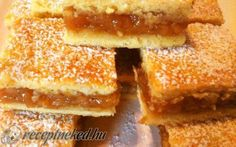 Almás pite recept fotóval Winter Food, Apple Pie, Cornbread, French Toast, Sandwiches, Food And Drink, Yummy Food, Sweets, Snacks