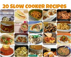 great collection of slow cooker recipes