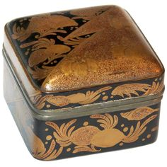 Antique Japanese Lacquer Box.