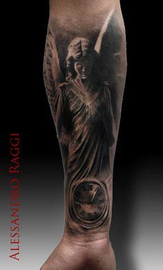Angel, swatch, realistic by Alessandro Raggi