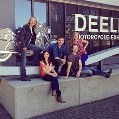 Cruise with a Cause. Photo: Amber Marshall, Cindy Busby, Alisha Newton, Graham Wardle, and Kerry James