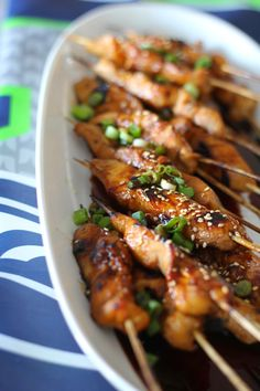 A Bountiful Kitchen: Sweet and Spicy Asian Chicken Skewers