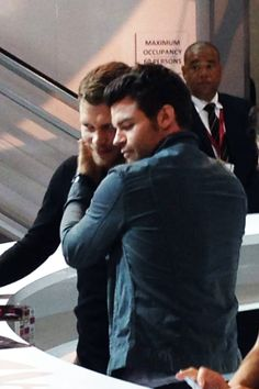 Joseph Morgan & Daniel Gillies @ SDCC 2014