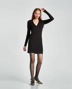 Vestido Manga Longa De Lã Abercrombie Vestidos
