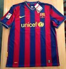 For Sale - NWT Nike Authentic 2009 Dri-Fit Barcelona MESSI #10 Short Sleeve Home Jersey L - See More at http://sprtz.us/BarcelonaEBay