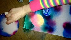 Fast spray and paintbrush space painting part 1 Space Painting, Paint Brushes, Tie Dye, Watch, Bracelet Watch, Clocks, Makeup Brushes, Tye Dye, Wrist Watches