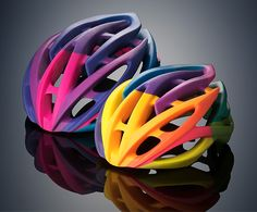 Not sure if I will try this at home: 3D printing helmets.
