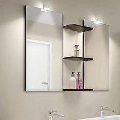 Domus Linen Kiky LED-valaisimet kylpyhuoneen peileihin. #domusline #kiky #peili #kylpyhuone #sisustus #decoration #home #koti #design #valaistus #led #valo #light #lamppu