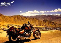 A road trip is never complete unless you have dirt on your bike and a back that cries for rest, and yet you are unmoved by will to ride that extra mile. #roadtrip #leh #india #holidays #adventure #bike #ladakh