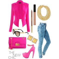Featuring Bucka - Neon Pink Privileged