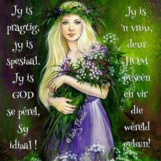 Afrikaans Quotes, Special Quotes, Ladies Day, Good Morning, Disney Characters, Fictional Characters, Aurora Sleeping Beauty, Dads, Christian