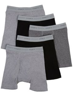 Hanes Boys Dyed Briefs 5-Pack/_Assorted Solid Dyed Heathers/_Medium