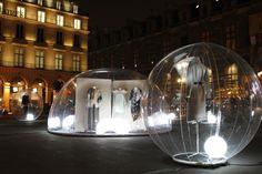 IFM Fashion Design : exhibition in Paris (Place du Palais-Royal), April 2013. Salon Made in France. #fashion #design