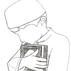 Very nice ramadan eid coloring pages islam for kids - Coloriage islam a imprimer ...