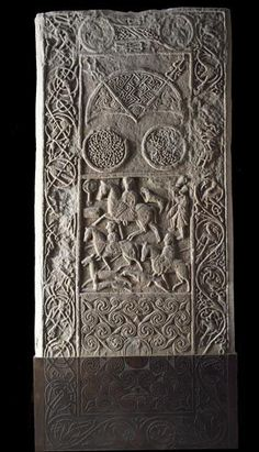 The magnificent Pictish cross-slab from Hilton of Cadboll in Easter Ross, carved between 700 & 800 AD...help the Glenmorangie project piece together the broken base of this amazing stone...