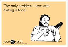 Ughghg  not that I dislike fruits and veggies, I just like carbs a helluva lot more.