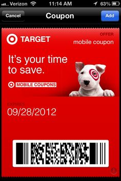 Have you heard of Passbook? It is the new way to save at your favorite stores, including Target, Gap, Walgreens and more. All the info- #target #coupons
