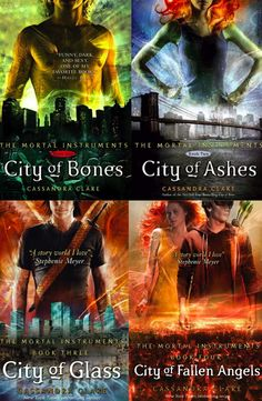 The Mortal Instruments Series. Coming soon City of Lost Souls.