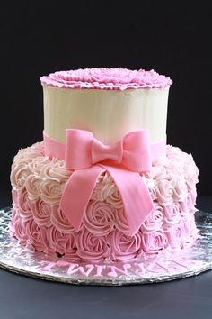 My first swirl cake.